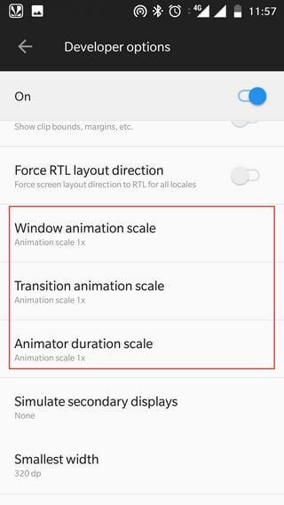 Change Animations on OnePlus 6