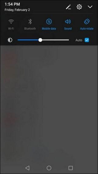 Huawei Mate SE Notification Panel