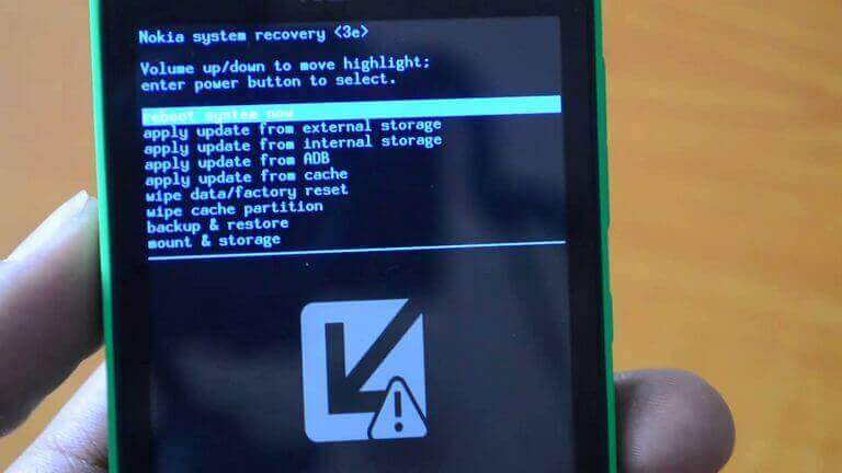 Enter Nokia X6 Recovery Mode