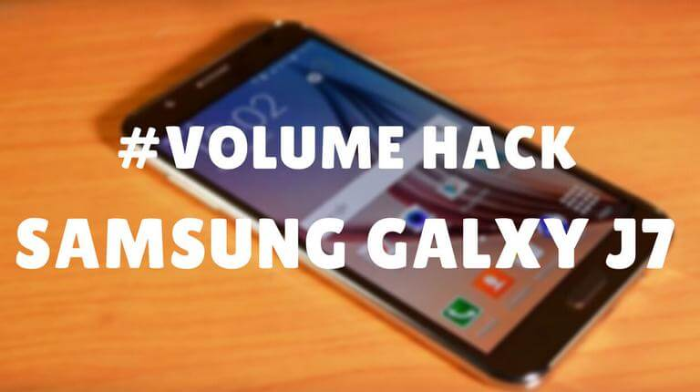 How to Increase Audio Volume on Samsung Galaxy J7