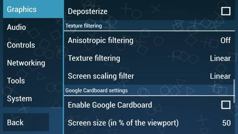 Texture filtering