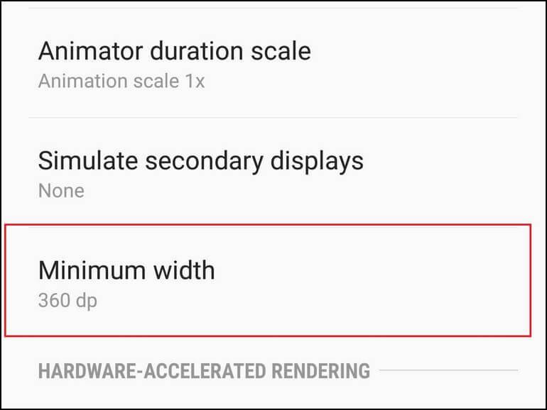 Reduce DPI on Galaxy J8