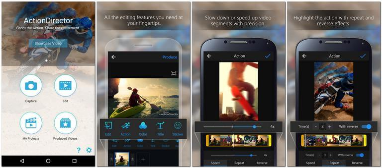 ActionDirector Video Editing App