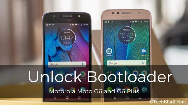 How to Unlock Bootloader on Moto G6 and G6 Plus