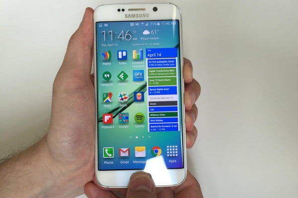 Take screen shot on Samsung Galaxy S7 and S7 Edge using hardware buttons