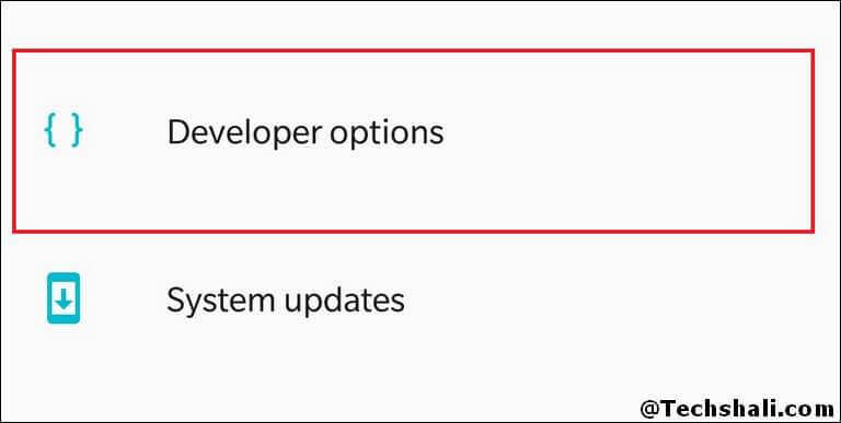 Developer Options Enabled on Samsung Galaxy S9