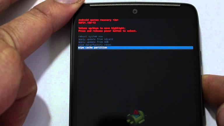 Enter/Boot Recovery Mode for LG Nexus 5