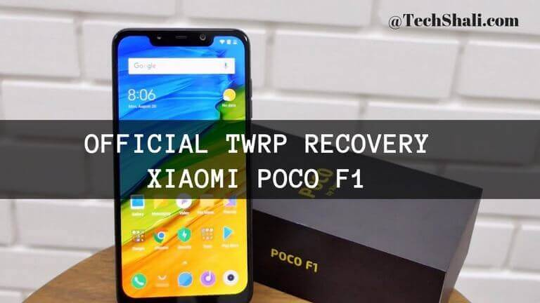 Flash TWRP Recovery on Xiaomi Poco F1