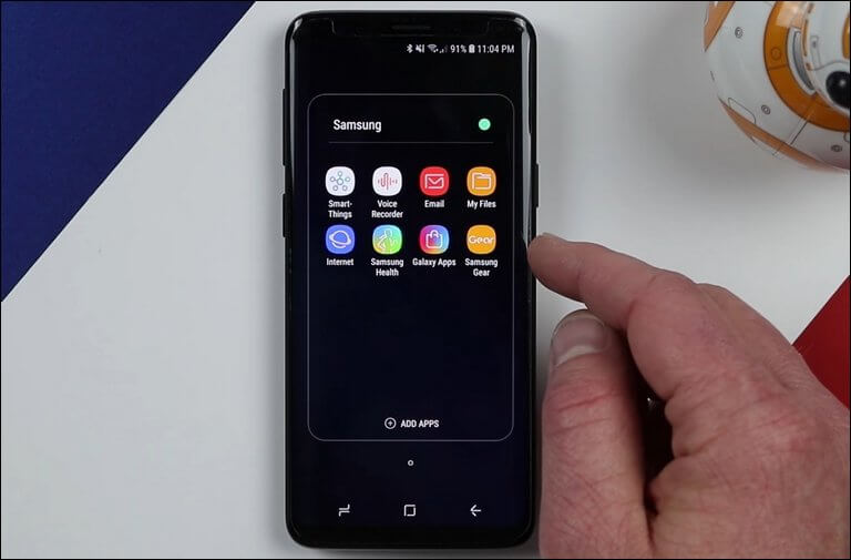 Open File Manager on Samsung Galaxy Note 9