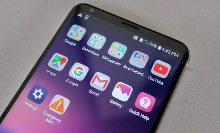 Enter Recovery Mode on LG V40 ThinQ