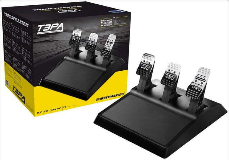 Thrustmaster T3pa 3-pedal Wide Pedal Set Add-on