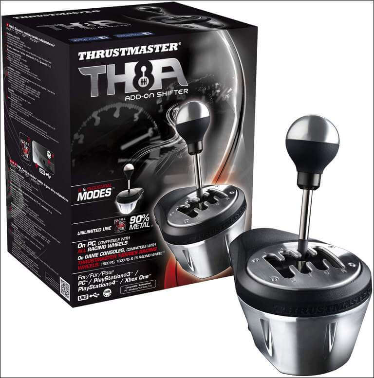Thrustmaster Vg Th8a Add-on Gearbox Shifter
