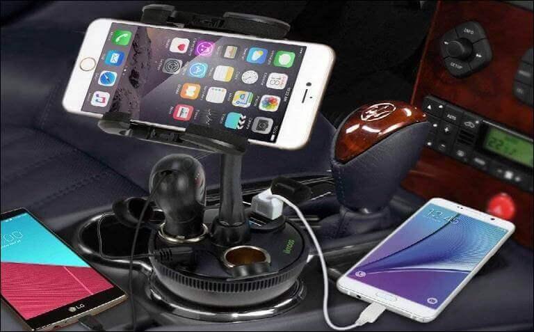 Universal Smartphone Cup Holder Cradle