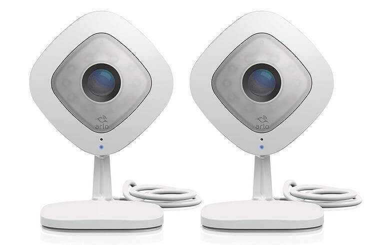 Arlo Q – Wired, 1080p HD Security Camera (2 Pack)