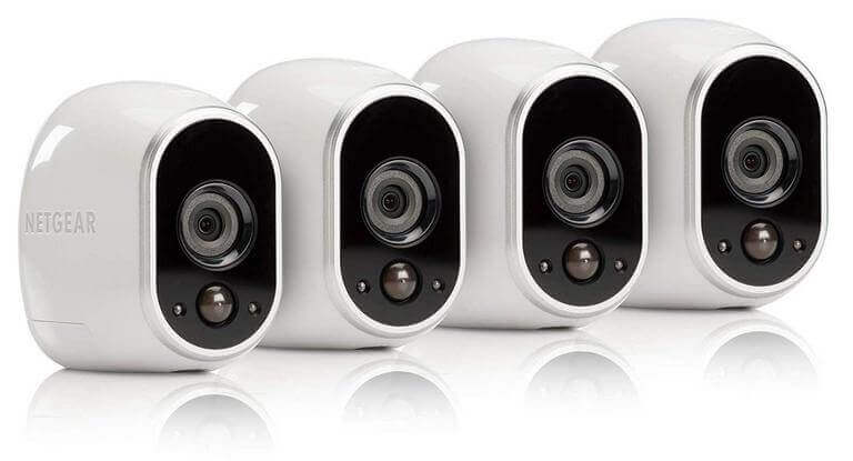 Arlo - Wireless Home Security Camera System with Motion Detection