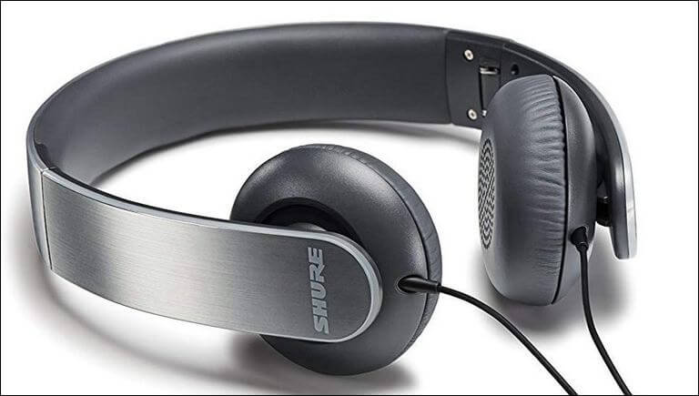 Shure SRH145m+ Portable Collapsible Headphones