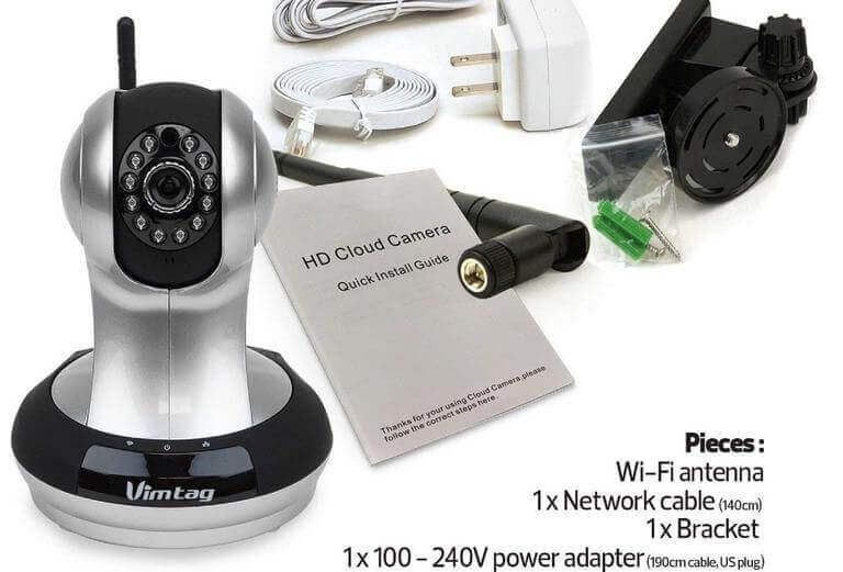 Vimtag VT-361 Super HD WiFi Video Monitoring Surveillance Security