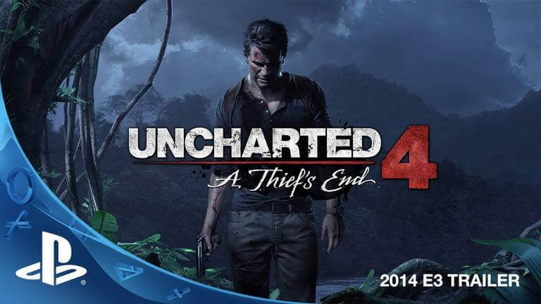 Uncharted 4 A Thief's End - Best PS4 Games in 2019