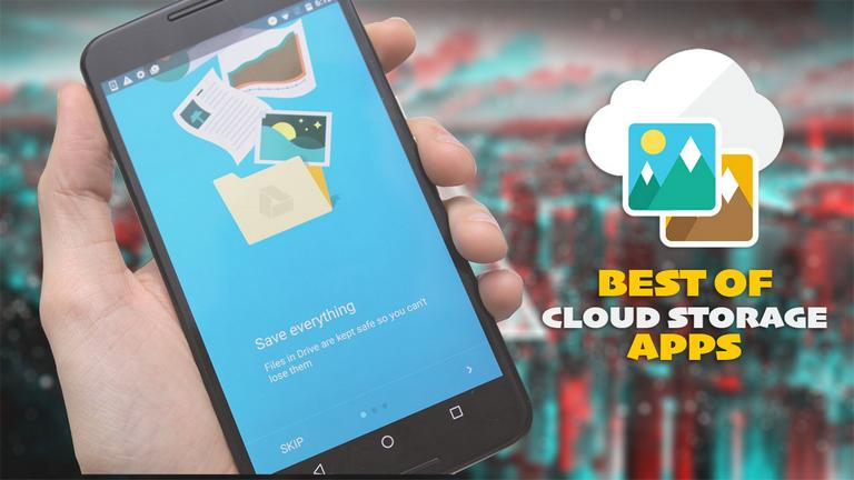 List of best Android Cloud Storage Apps in 2019