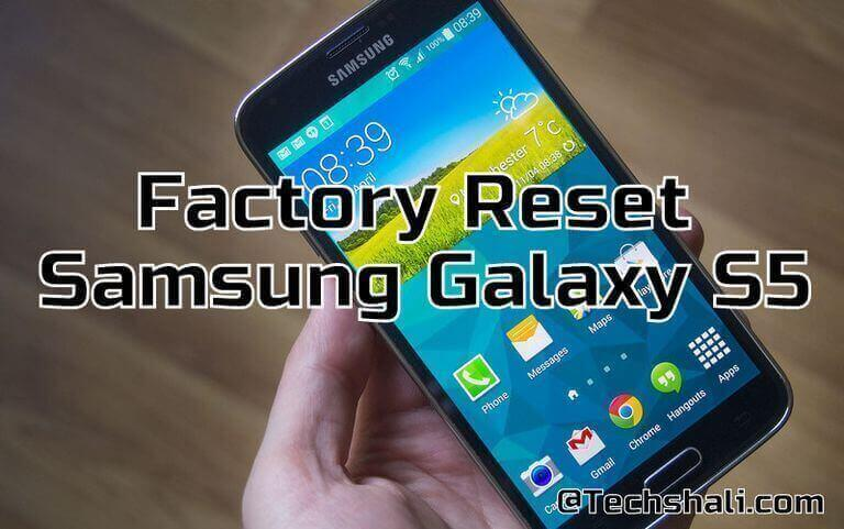 Photo of How to factory reset Samsung Galaxy S5