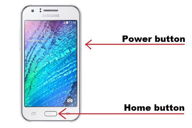 How to take a screenshot on Samsung Galaxy J7 [2016/2017] having a home button