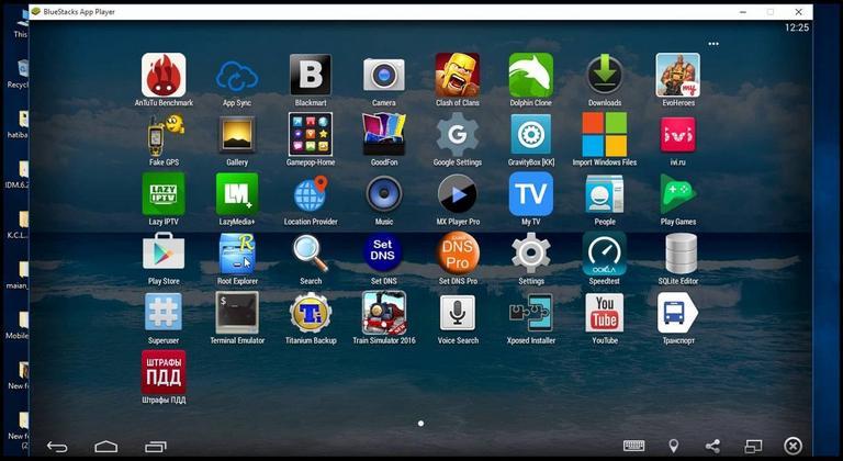 windows 10 android emulator blue screen