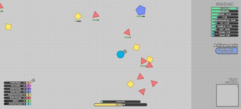 Diep.io online game
