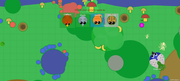 Mope.io online game