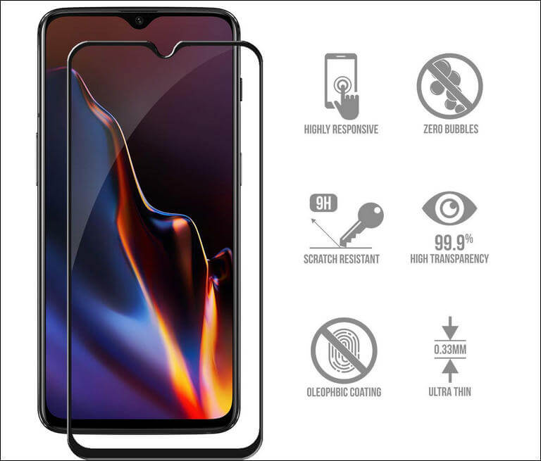 SCL 3D Tempered Glass Screen Protector