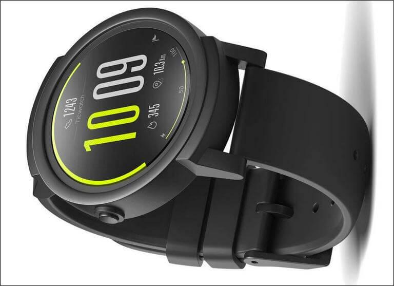 Ticwatch E most comfortable Smartwatch Samsung Galaxy M20