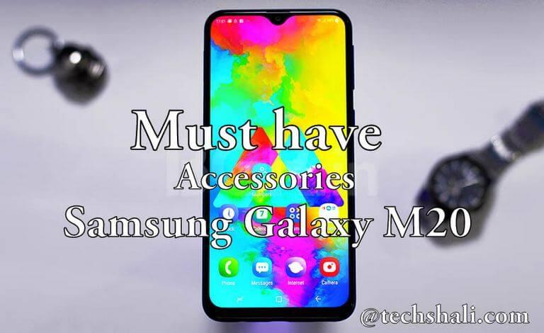 Best Accessories for Samsung Galaxy M20