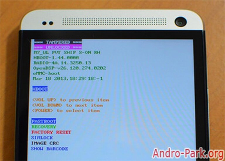 Install CWM Recovery on HTC One