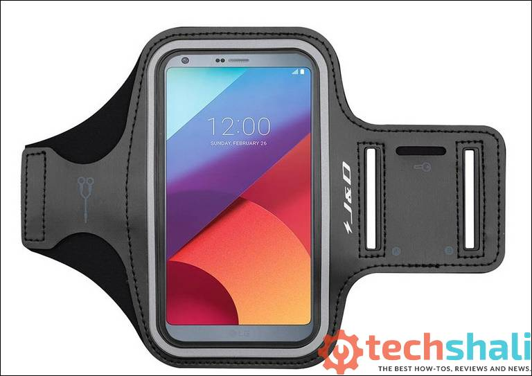 J&D Armband Compatible for LG G6