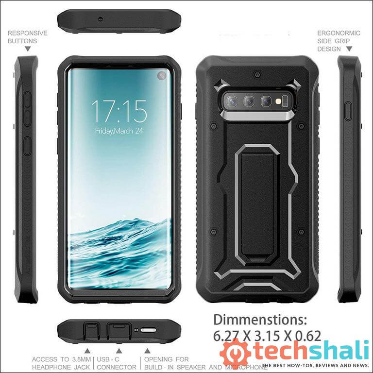 Military Grade Rugged Case Samsung Galaxy S10