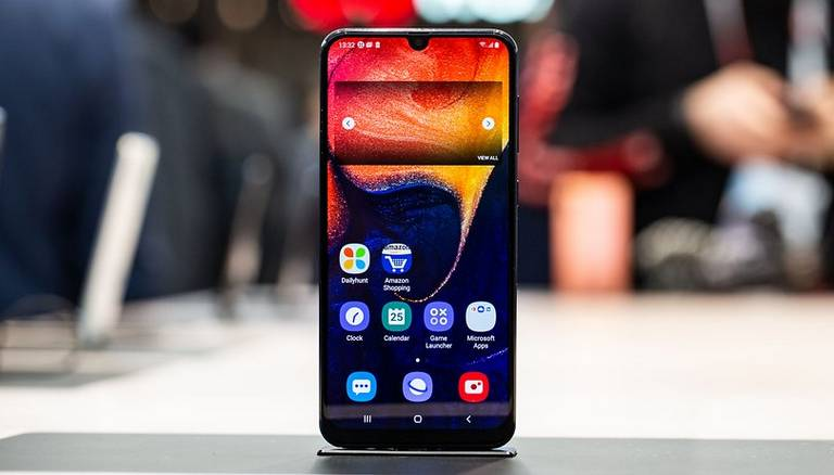 Take a screenshot on Samsung Galaxy A50