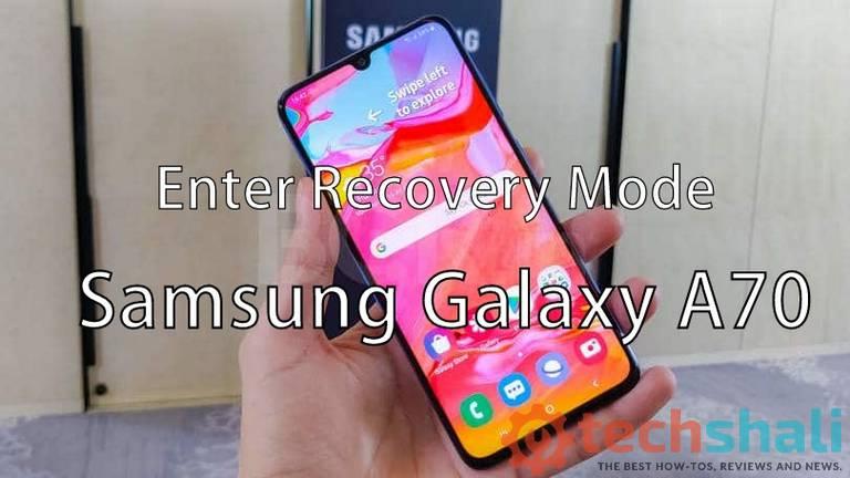 Enter Samsung Galaxy A70 into Recovery Mode