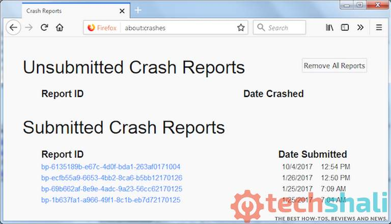 Photo of What if Firefox crashes?