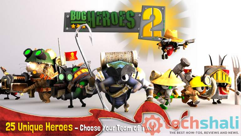 Bug Heroes 2 Best MOBA Game