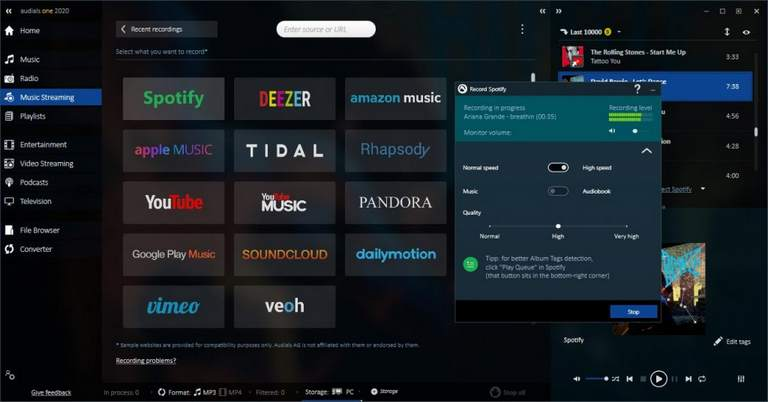 Audials One 2020 - Music and Radio