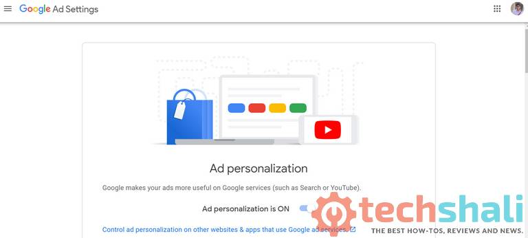 How to find out what Ad topics Google thinks you are most keen on
