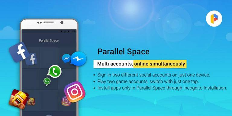 Hide Android Apps Using Parallel Space