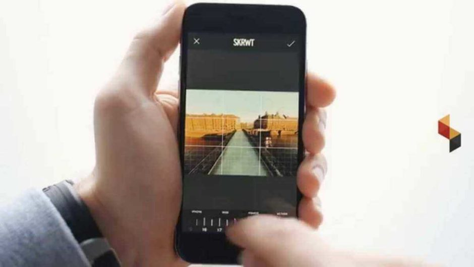 SKRWT is an iPhone photo editing app