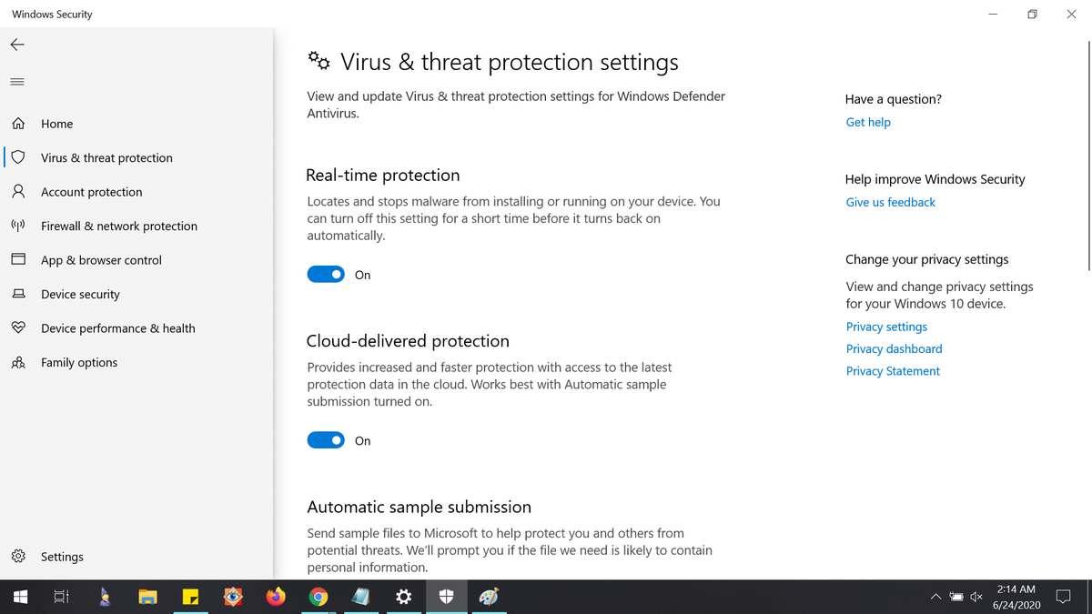 Best Windows Defender Features