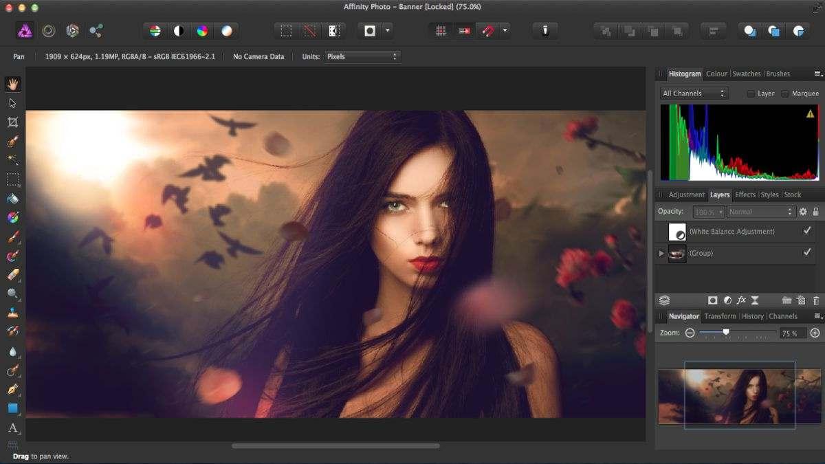Affinity Photo - Pixelmator Pro