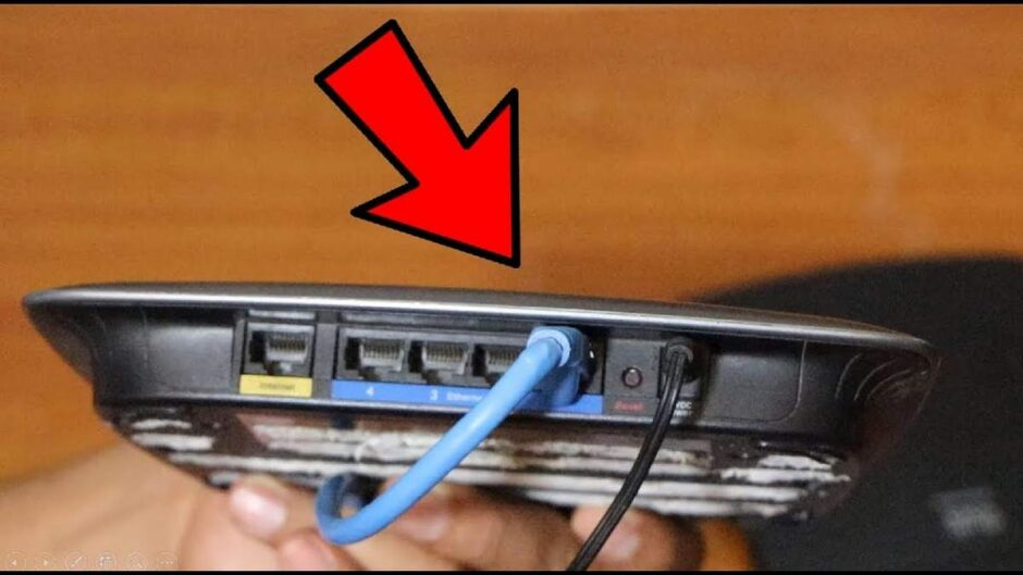Use your old router as a Switch