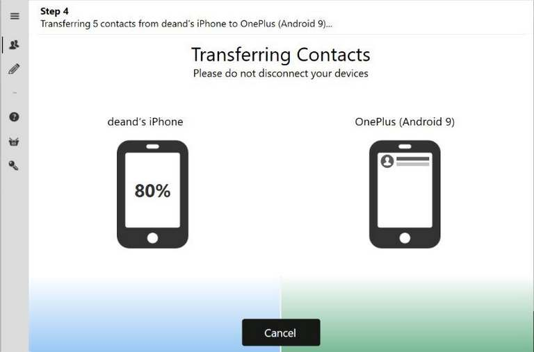 Contact Transfer review