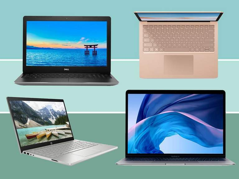 Laptop store in UK's operation process