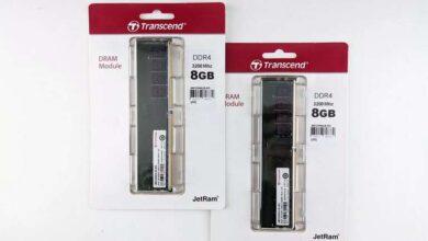 Photo of Transcend JetRam JM3200HLB-8G RAM Review
