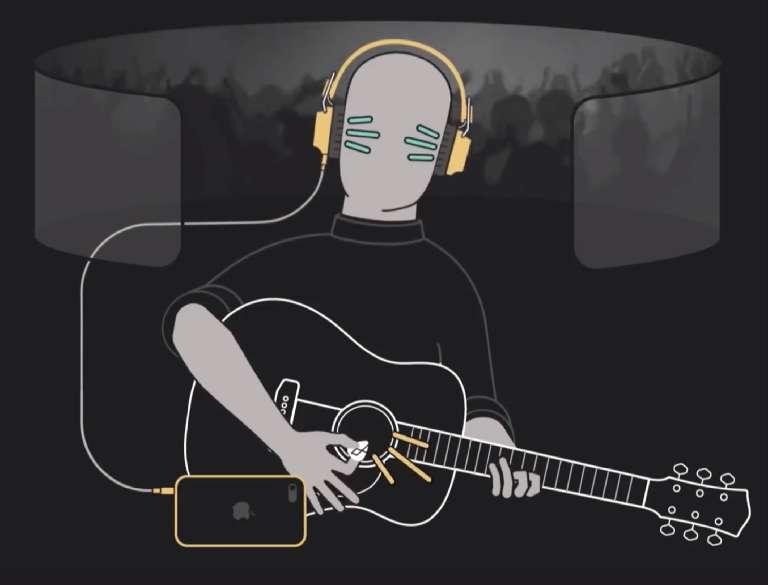 Amped Guitar app