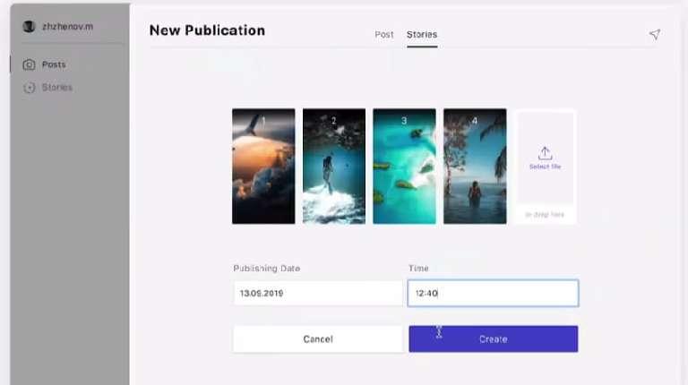 Combin Scheduler to Schedule Instagram Posts and Stories
